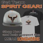 Mead Longhorns baseball spirit gear