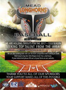 Mead Colorado Baseball Tryouts